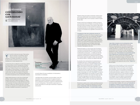 Conversando con Lluís Bassat, colección Bassat.