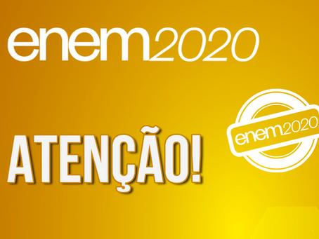 Governo anuncia adiamento de 30 a 60 dias do Enem 2020