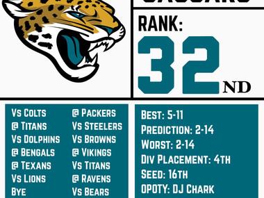 Jaguars Team Breakdown (1st of 32)
