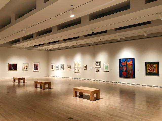 Obras de Diego Rivera, Tamayo, Alfaro Siqueiros y José Clemente Orozco, entre muchos más.