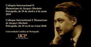 Edgard Leite no Colóquio Internacional Jacques Maritain
