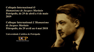 Edgard Leite no Colóquio Internacional Jacques Maritain