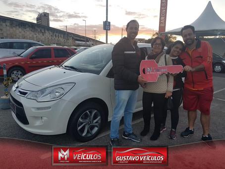 Parabéns Albertina, Grazianni e Maria!