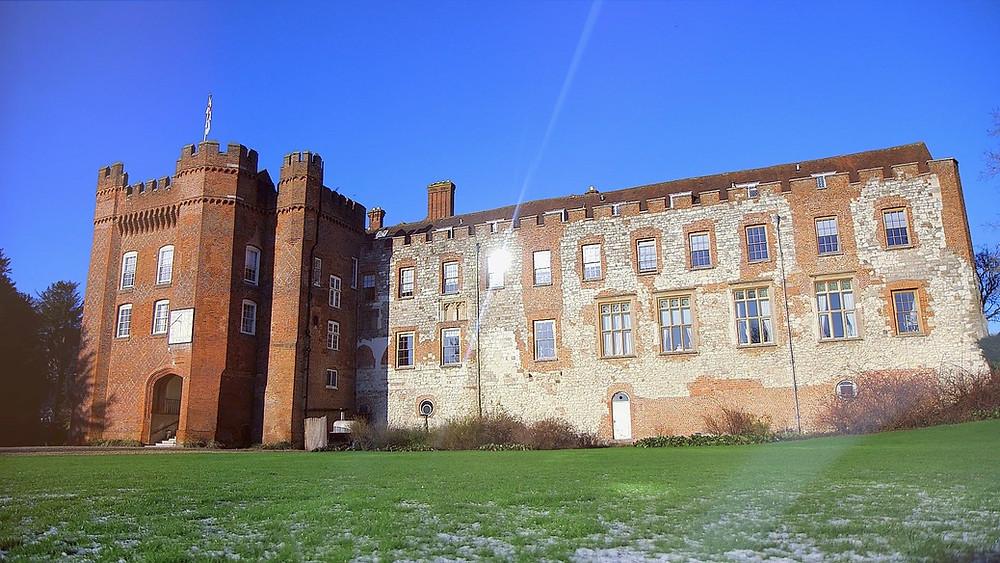 Farnham Castle at winter