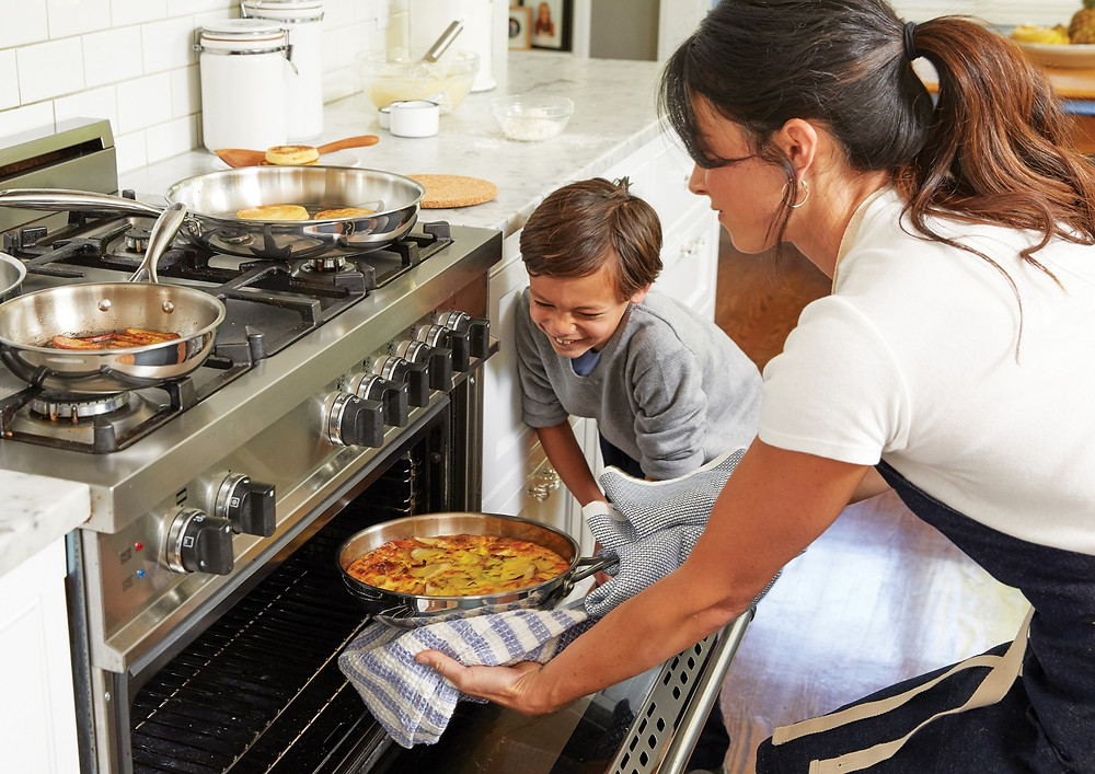 cooking with kids kitchen safety