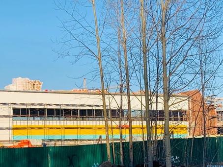 Строительство Физкультурно- оздоровительного комплекса в округе Варавино-Фактория идёт полным ходом!