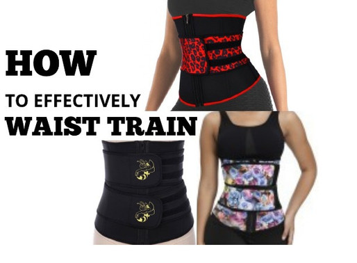 WAIST TRAINING AND WEIGHT LOSS!