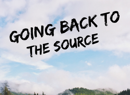 Going Back to the Source