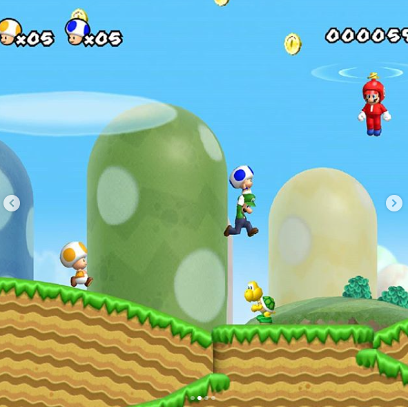 Nintendo DS New Super Mario Bros