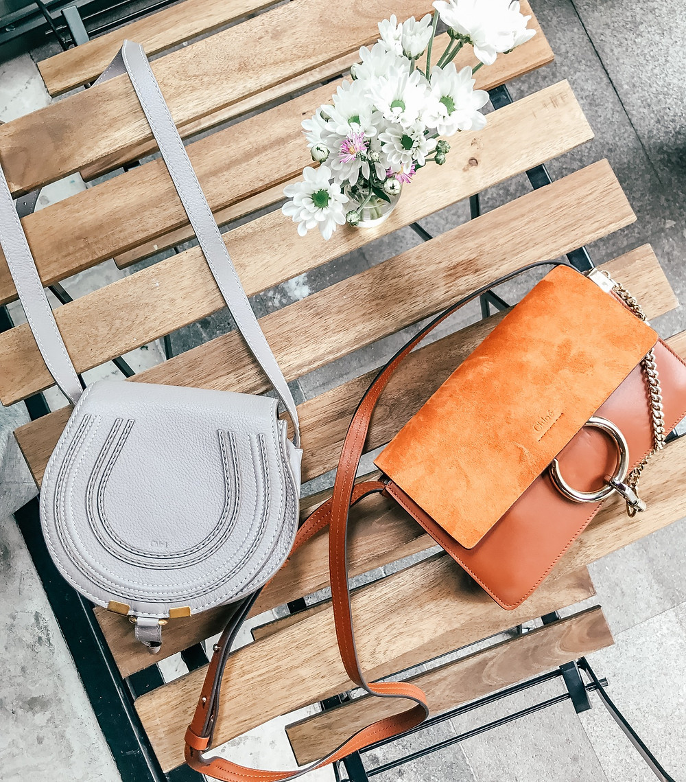 CHLOÉ Faye & Marcie Bags l Review l A Style Alike