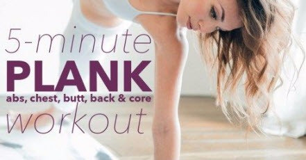 10 Amazing 5-Minute Workouts To Tone Your Abs, Inner Thighs, Butt and Arms