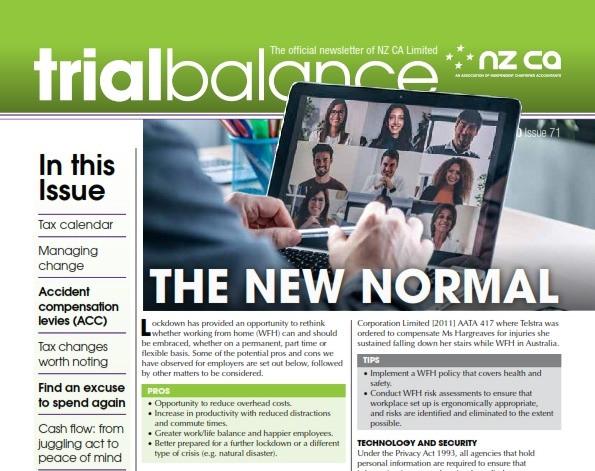 trialbalance newsletter