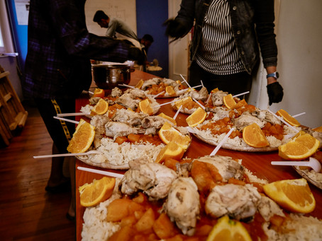 Cooking for the Iftar: AFE and Help Refugees