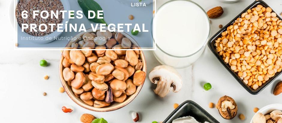 Alimentos proteicos de origem vegetal