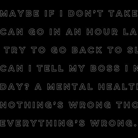 Depression Is - Andres Ruiz
