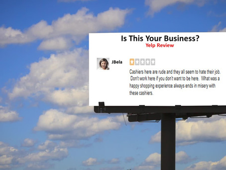 What Is Your Online Billboard Telling Potential Customers?