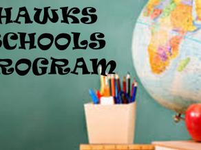 Hawks Launches Schools Program