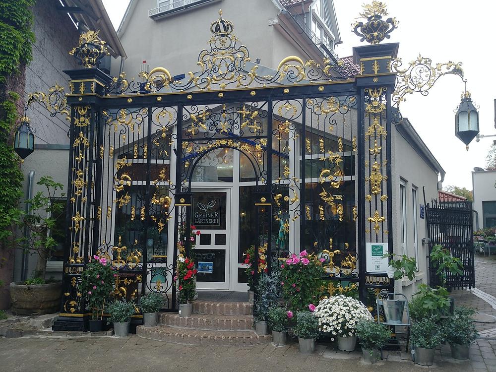 Schlossportal der Gärtnerei Greiner
