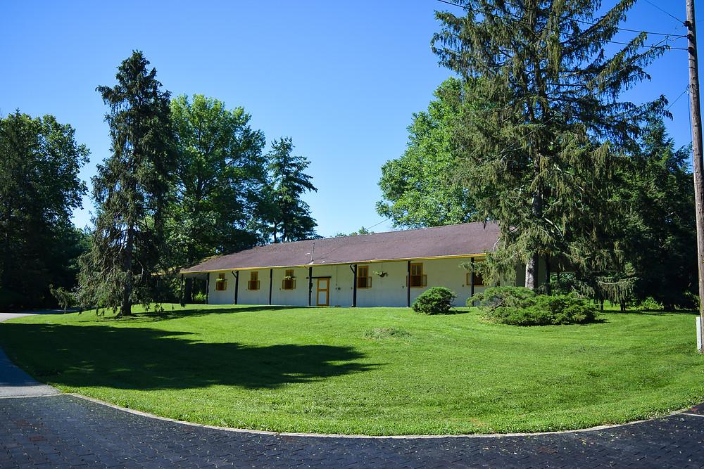 Claiborne Farm, Thoroughbred farm in Paris, Kentucky. Home of Secretariat
