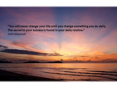 """Are You Feeling Overwhelmed? Implementing a """"One Day At a Time"""" Process"""