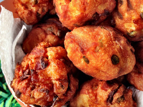 Savoury rissoles - A proper umami bomb :D