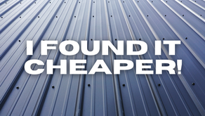 Why You Found Metal Roofing Cheaper Somewhere Else