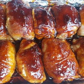 Jack & Cola Chicken Thighs