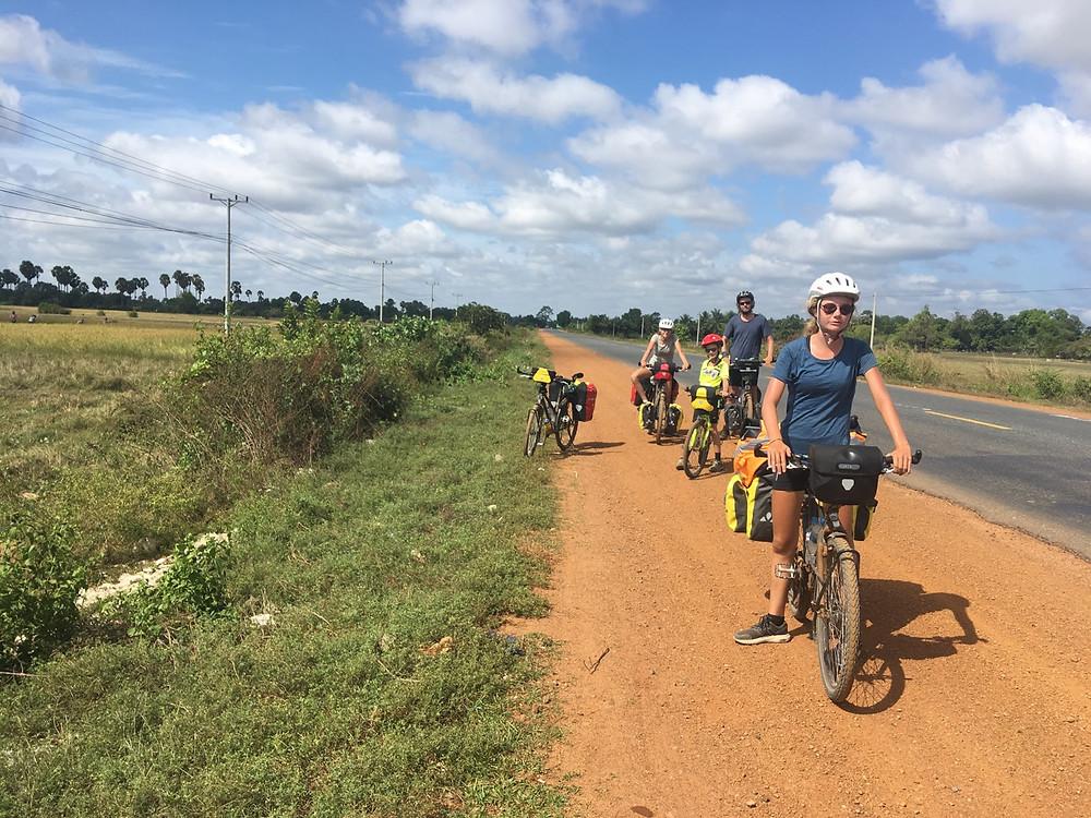 Tour du monde en vélo en famille : Cambodge