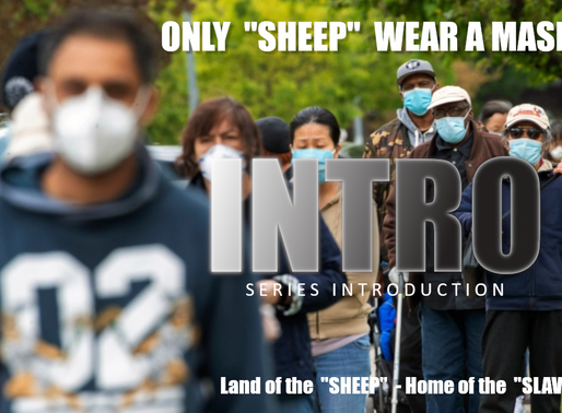 "ONLY ""SHEEP"" WEAR A MASK 