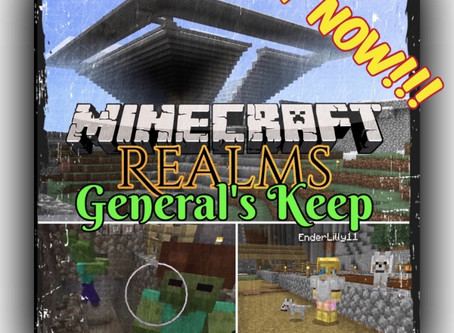"OUT NOW!!!""General's Keep"" (Episode XIX) - A Minecraft Realms Adventure [Bedrock] BUILD THAT WALL!!!"