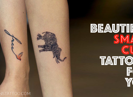 50+ Cute Small Tattoos for Girls and Boys