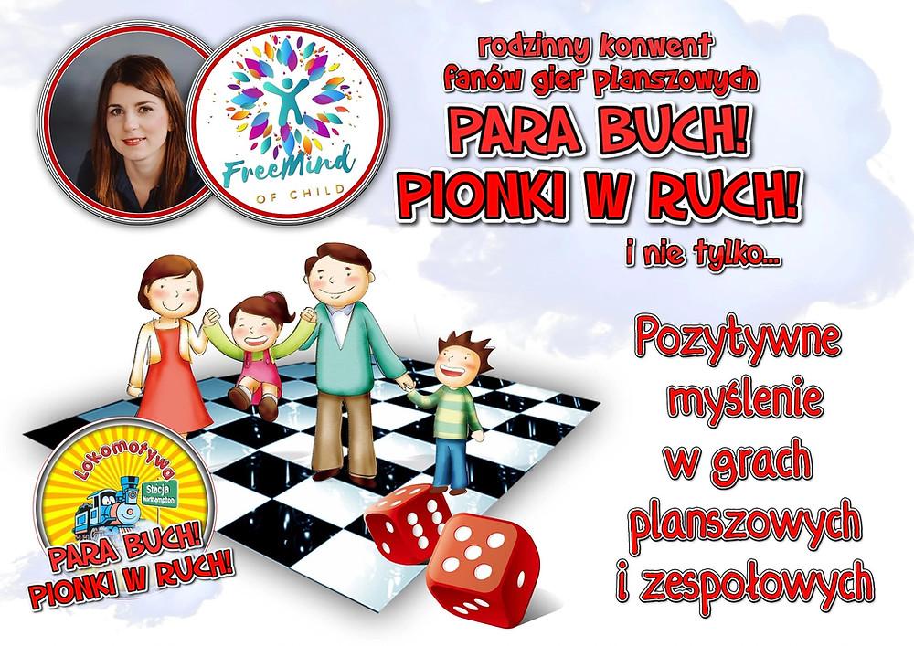 O pozytywnym myśleniu w grach planszowych i zespołowych (i nie tylko) - rozmowa z Anną M. Piaseczną z Free Mind of Child