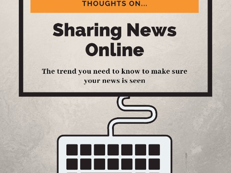 Industry Hot Take: Sharing News Online