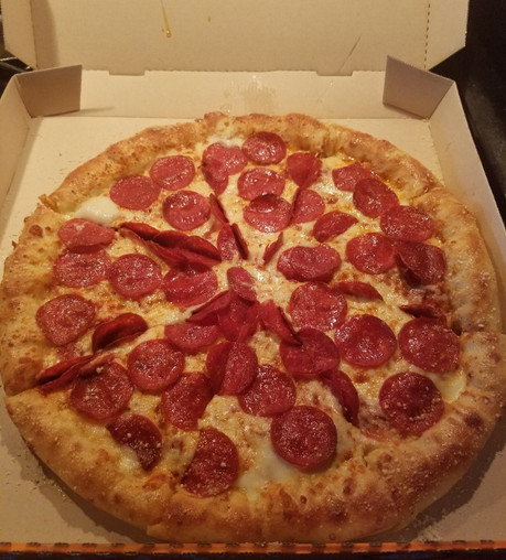 Reviewing Little Caesar's Pepperoni Stuffed Crust Pizza
