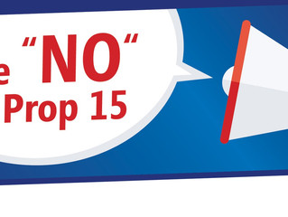 """Vote """"NO"""" on Prop 15 Letter to Tenants and Property Owners"""