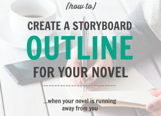 Storyboard Outlining for Your Novel