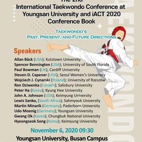 2nd International Taekwondo Conference at Youngsan University iACT 2020 Conference book