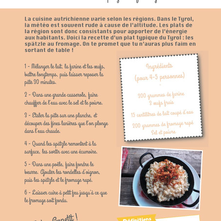 La recette des spätzle au fromage