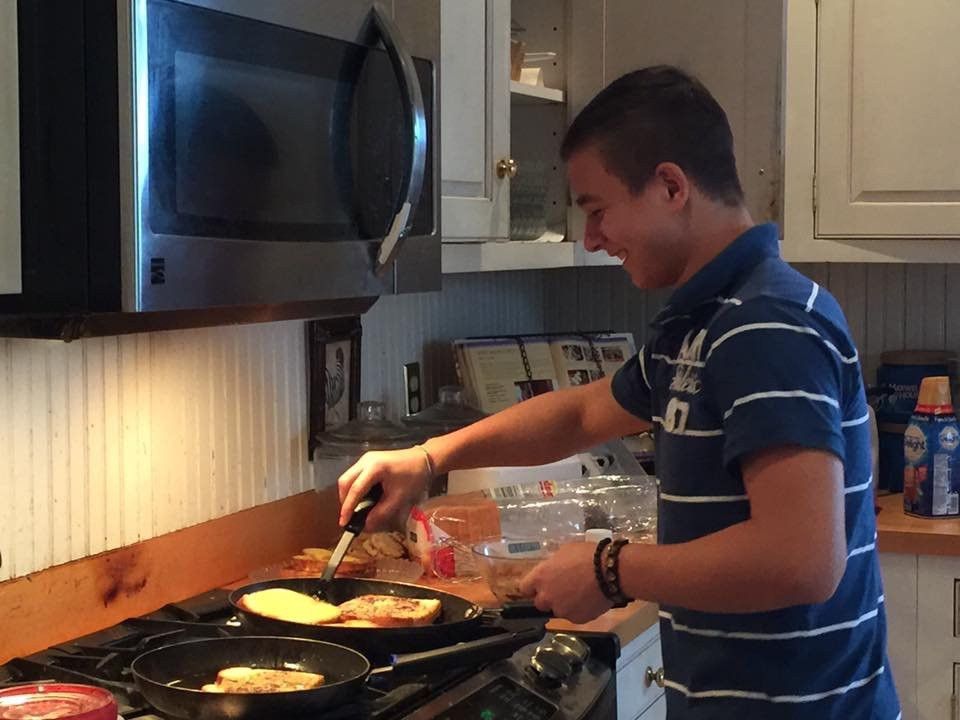 Learning to cook basic foods is an essential life skill