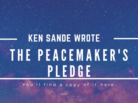 The Peacemaker's Pledge