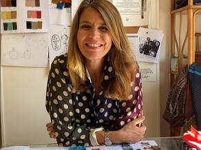 Lucille Léorat, fondatrice de la marque Leftovers dits L/OVERS et Sister chez Band of Sisters Paris