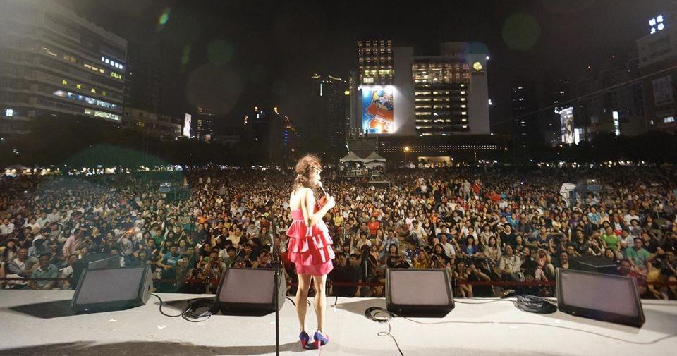 Taichung Jazz Festival, Taiwan, oct. 26th. Photo : Maxime Delporte