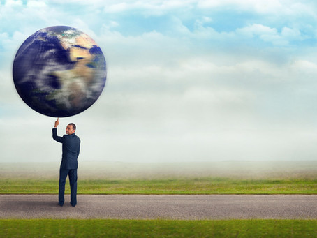 RE-BALANCING THE WEIGHT OF THE WORLD