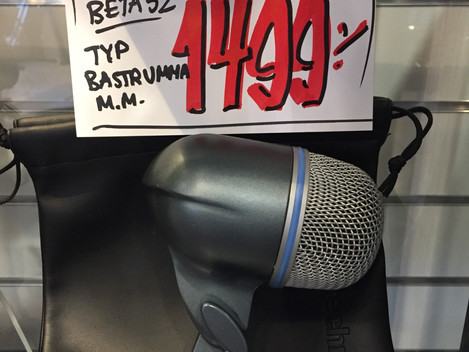 Beg Shure Beta 52 1499:- SÅLD!