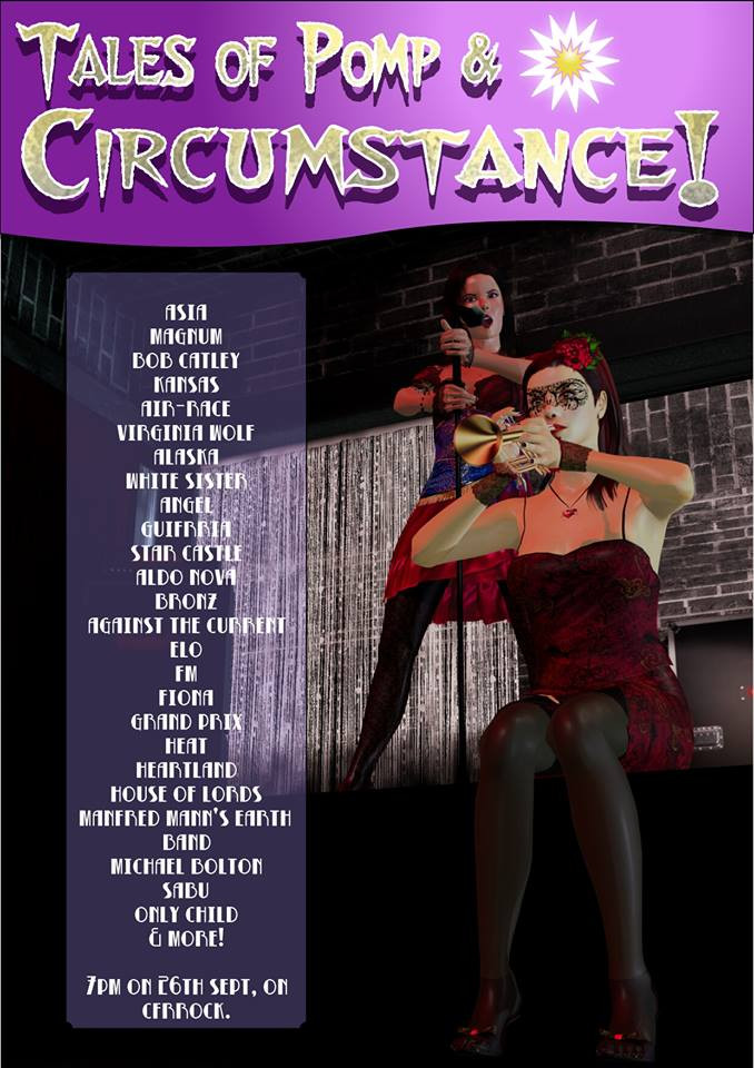 Promo pic for POMP & CIRCUMSTANCE 3 on the BRS for Crossfire Radio