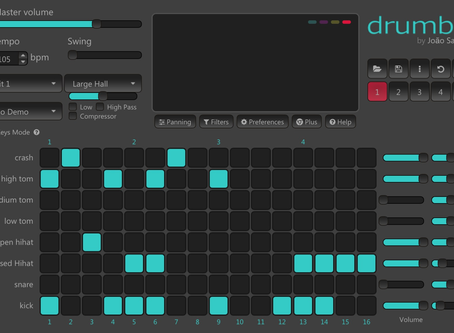 A7 - Drum Beat in p5.js