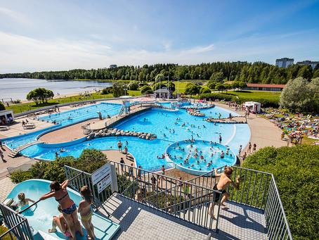 Fler badsugna valde utebad i Umeå