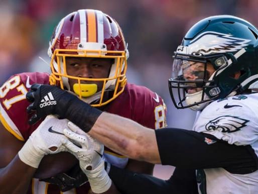 Week 1 Key Matchups:  Eagles-Washington