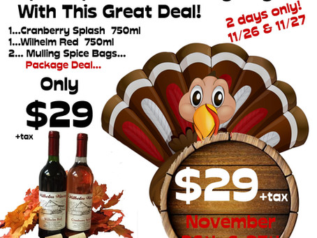 """""""SPICE UP"""" YOUR THANKSGIVING-2 DAYS ONLY"""