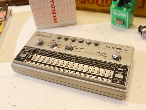 Begagnad Roland TR-606, underbar analog trummaskin, 6999:-